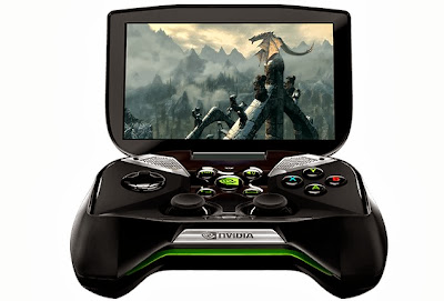 Nvidia Shield. Light in rod