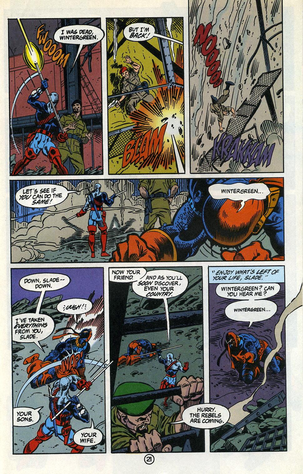Deathstroke (1991) Issue #3 #8 - English 27