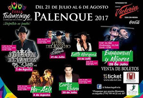Boletos Feria tulancingo 2017