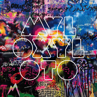 Capa do CD Coldplay - Live 2012