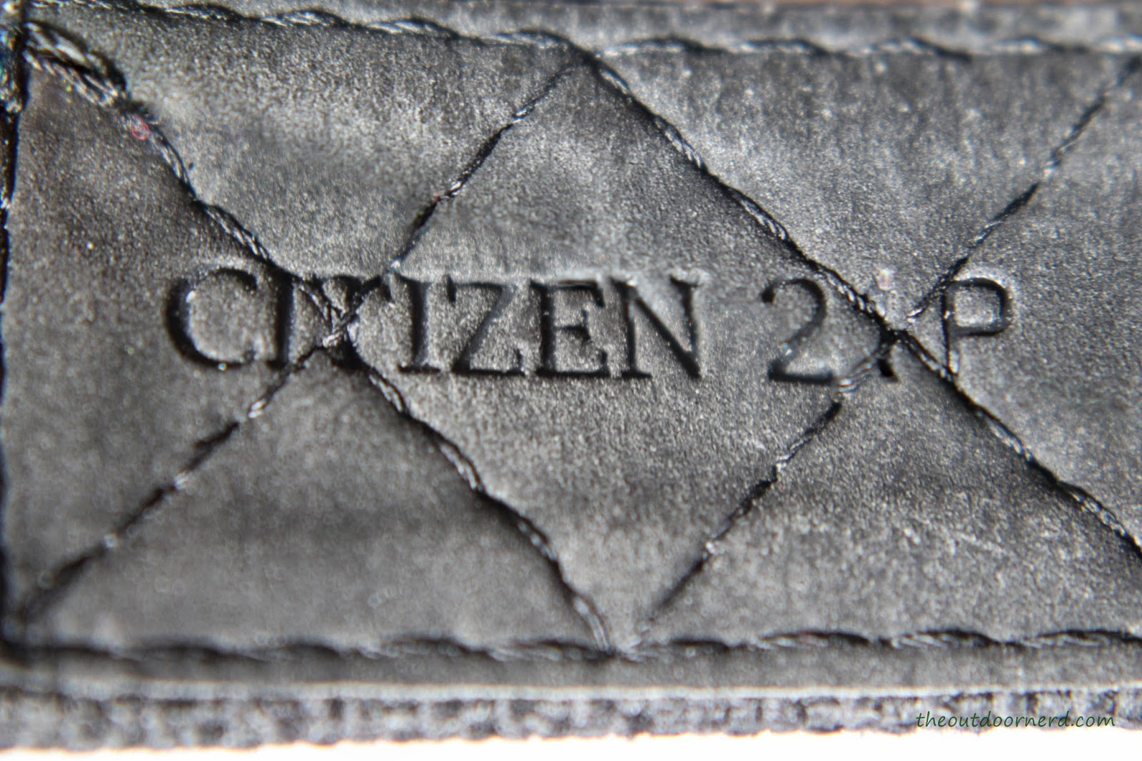 Citizen Men's BM6400-00E Eco-Drive Watch: Closeup Of Band 5