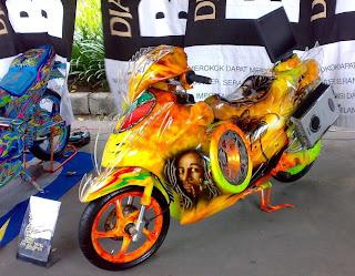 Modif Yamaha Mio Sporty