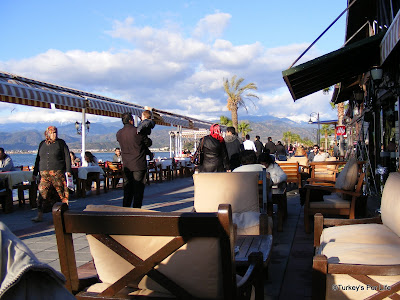 New Year's Day Along Fethiye Harbour