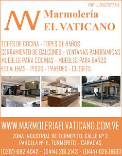 MARMOLERIA EL VATICANO C.A. en Paginas Amarillas tu guia Comercial