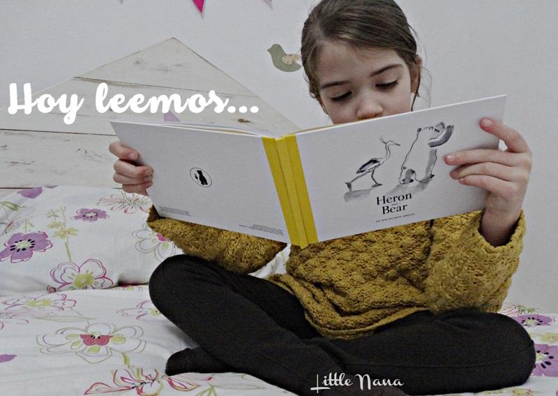 Hoy leemos Heron and Bear
