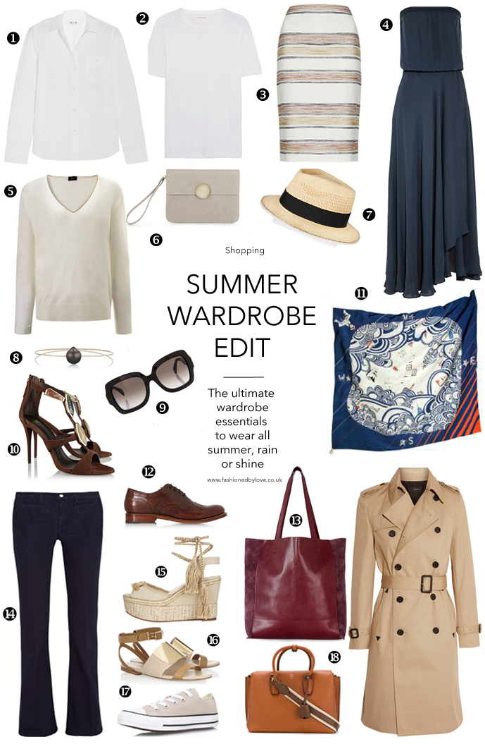 ultimate summer wardrobe edit to use as a guide to the best buys, trends and statements / shopping guides / wardrobe essentials / via fashioned by love british fashion blog
