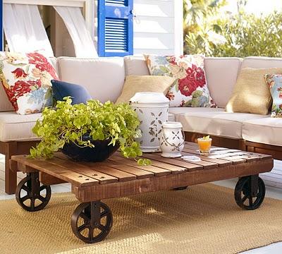 Blog de decorar 15 mesas de centro de ba bar feitas de - Mesa centro palet ...