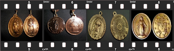 Medalhas que Nossa Senhora pediu para o Vidente Marcos Tadeu divulgar (de outras Aparições):