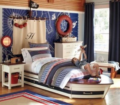 decoración estilo marinero