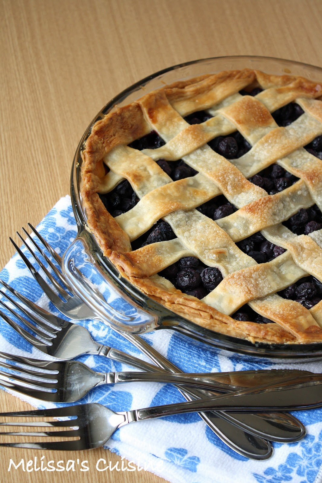 Melissa's Cuisine: Blueberry Pie