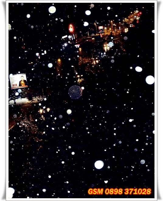 Сняг над София, 6.03.2015,  бул. Т. Каблешков