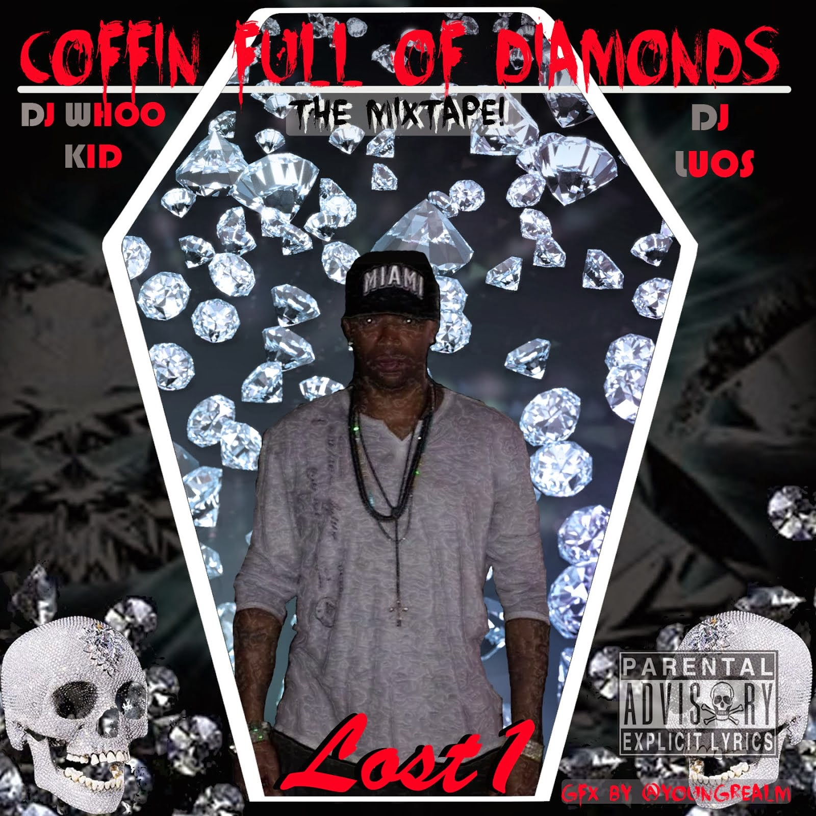 DJ LUOS & DJ WHOO KID present.. Lost 1 - Coffin Full Of Diamonds (Inspired By Kendrick Lamar)