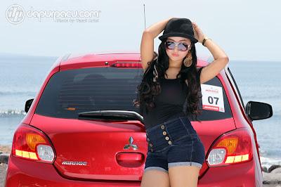Nuansa Gadis Pulau Dewata dan Mitsubishi Mirage