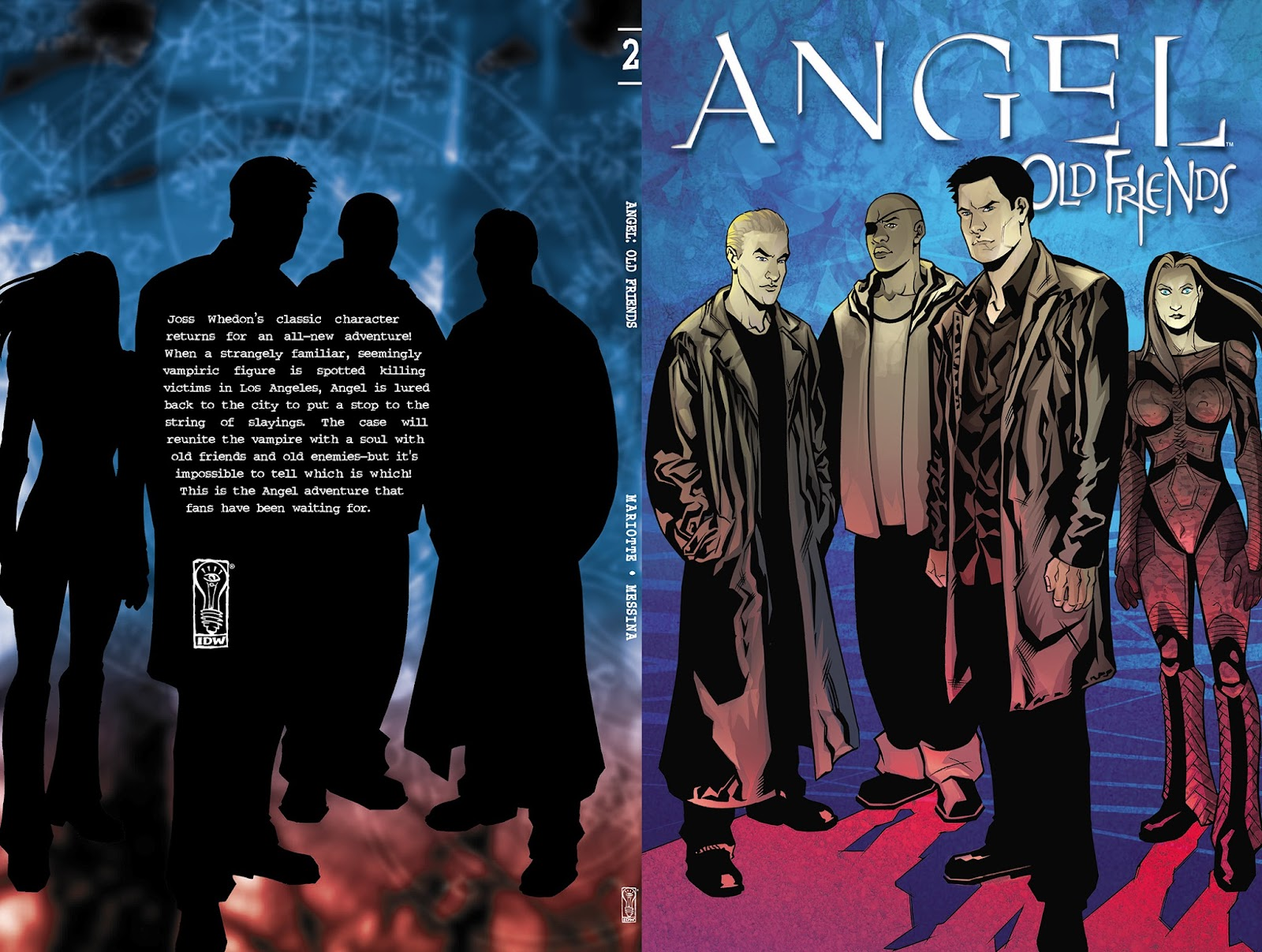 Angel: Old Friends   issue TPB - Page 1