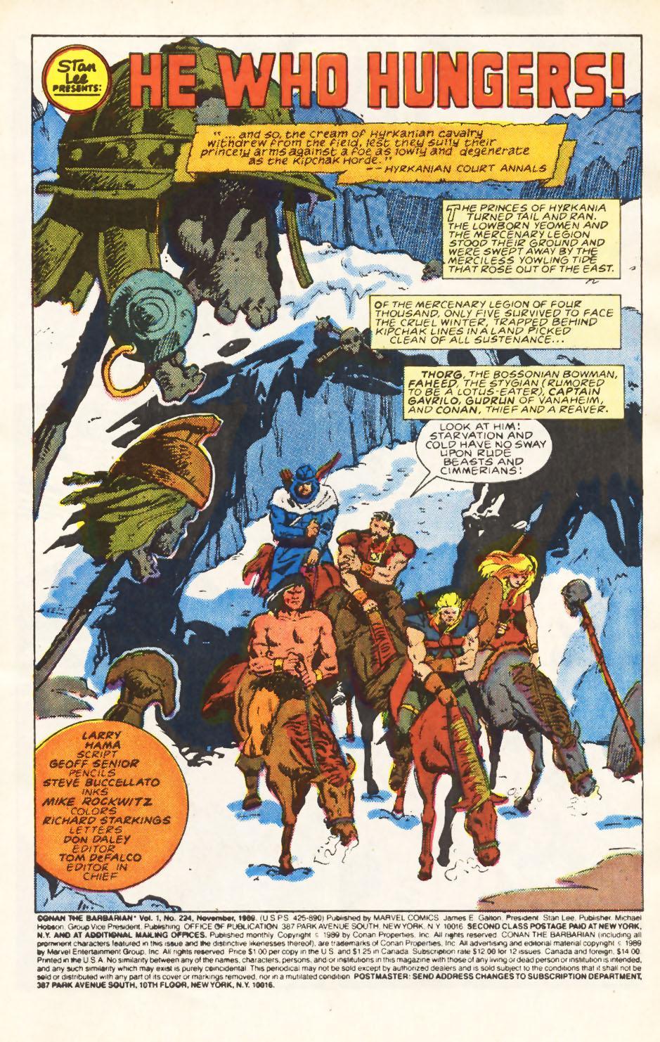 Conan the Barbarian (1970) Issue #224 #236 - English 2