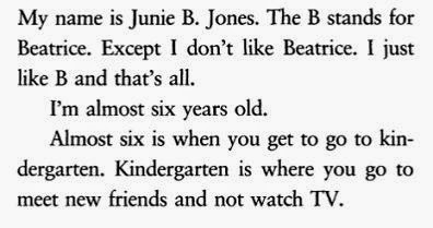 Junie B. Jones and the Stupid Smelly Bus sample