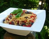 Summer Orzo (A Veggie Venture)