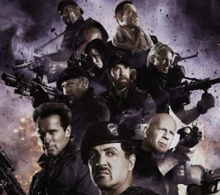 The first official trailer for The Expendables 2012