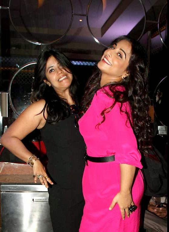 Ekta Kapoor and Vidya Balan to promote Shadi Ke Side Effects movie