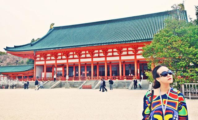 www.meheartseoul.blogspot.com | Kyoto Heian Jingu Shrine