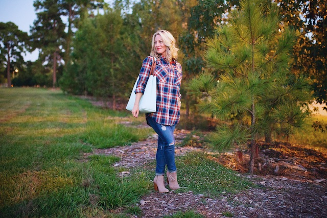 The perfect plaid top.