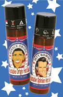 Presidential Hot Sauce Romney & Obama