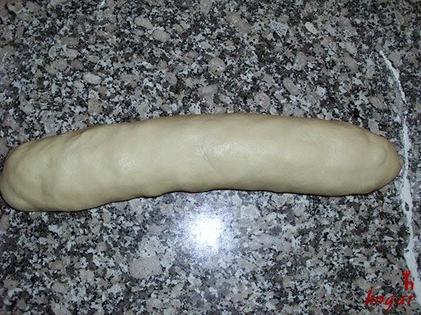 Pan de Jamón-enrollado