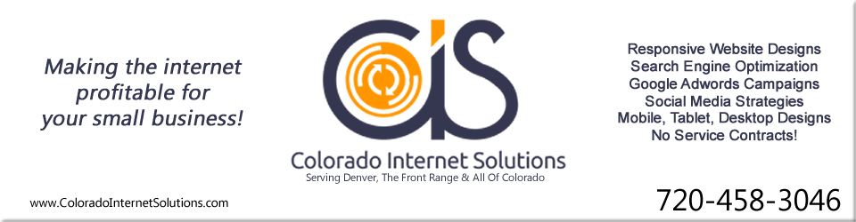 Colorado Internet Solutions, Small Business Website Design & Marketing Services