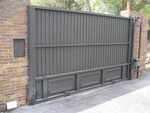 Indumetalicas martinez y palau asociados carpinter a met lica - Precio puertas de garaje ...
