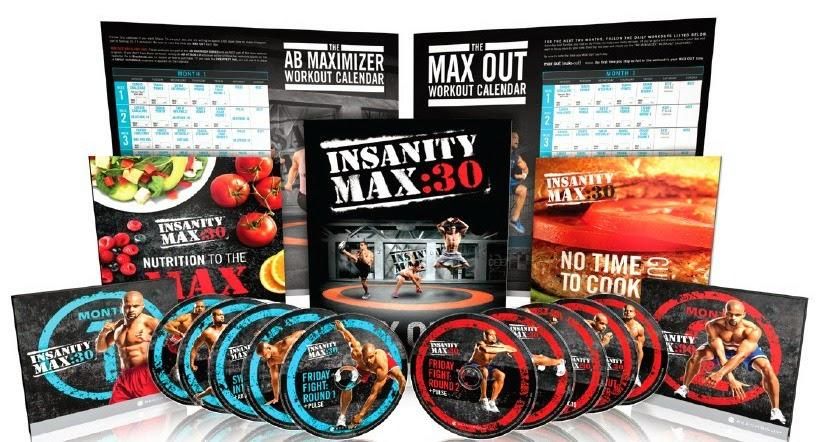 Programme d'entraînement INSANITY MAX 30