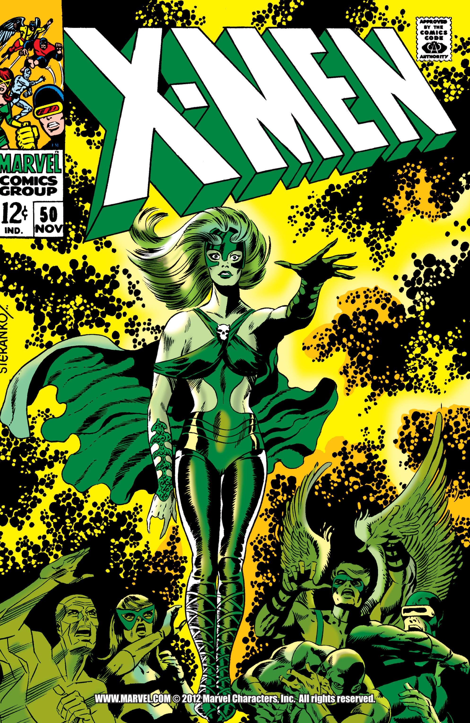 Uncanny X-Men (1963) 50 Page 1