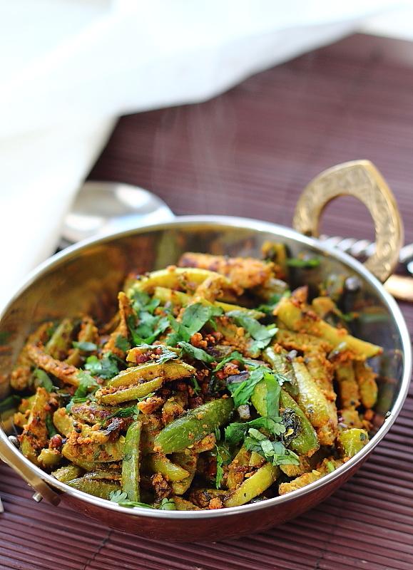 Dondakaya Nuvvula Kura| Ivy Gourd with Sesame Seeds Powder