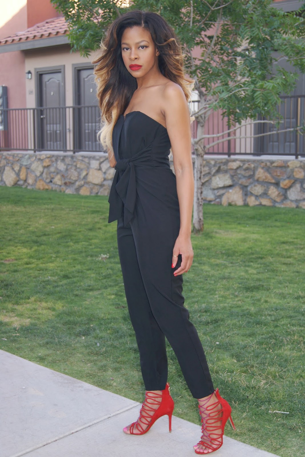 jumpsuit, summer outfits, lace up heels, allthingsslim,