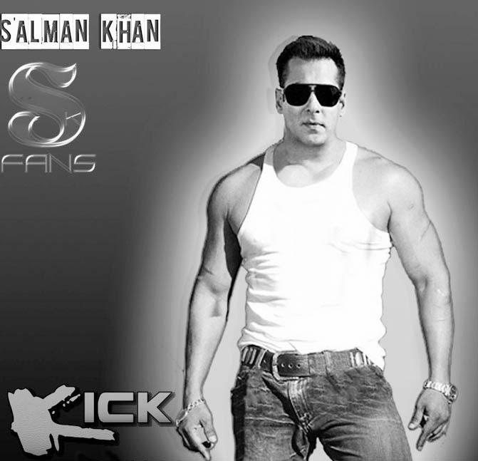 Bollywood Actress Salman khan kick movie poster