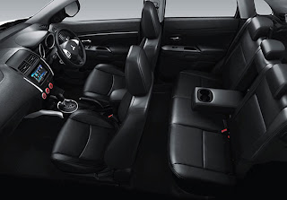The Interior outlander sport