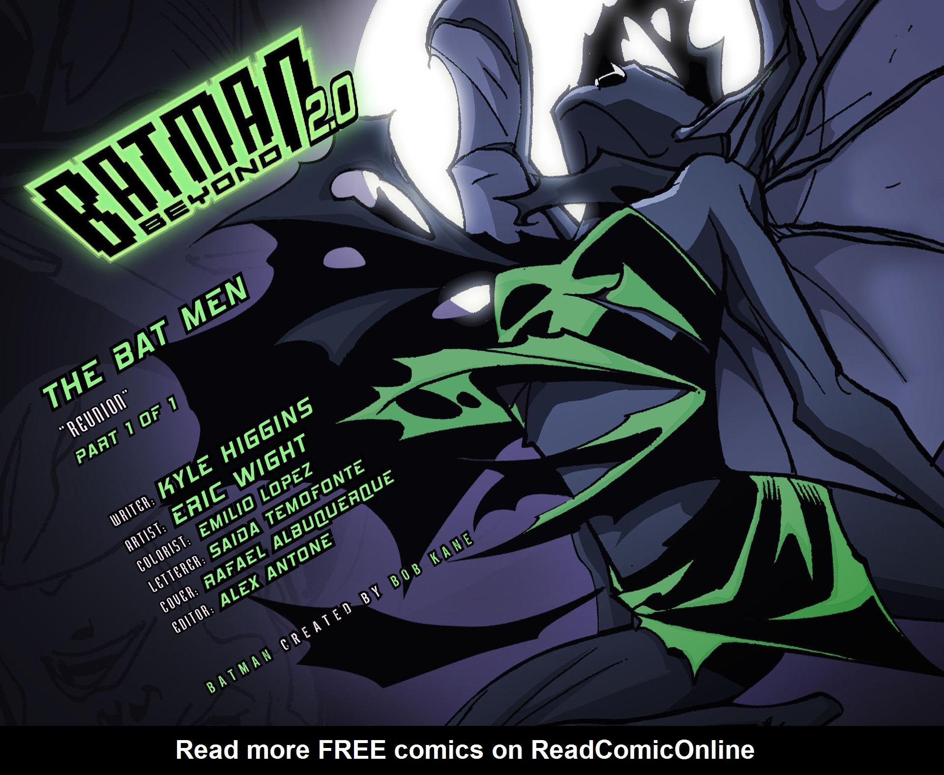Batman Beyond 2.0 #16 #25 - English 2