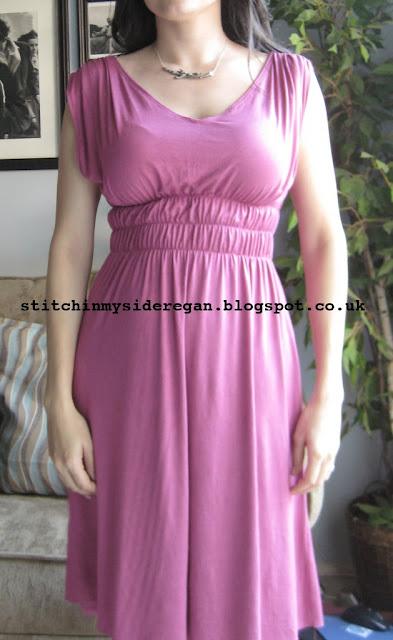Free Sewing Pattern 1970's Grecian Maxi dress