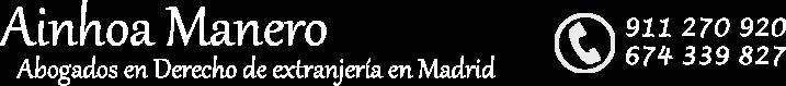 Ainhoa Manero. Abogados de extranjería y nacionalidad española en Madrid (Lawyer)