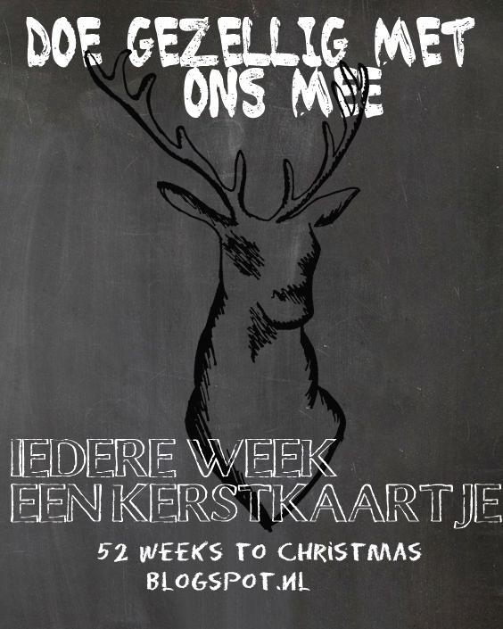 Iedere week een kerstkaart