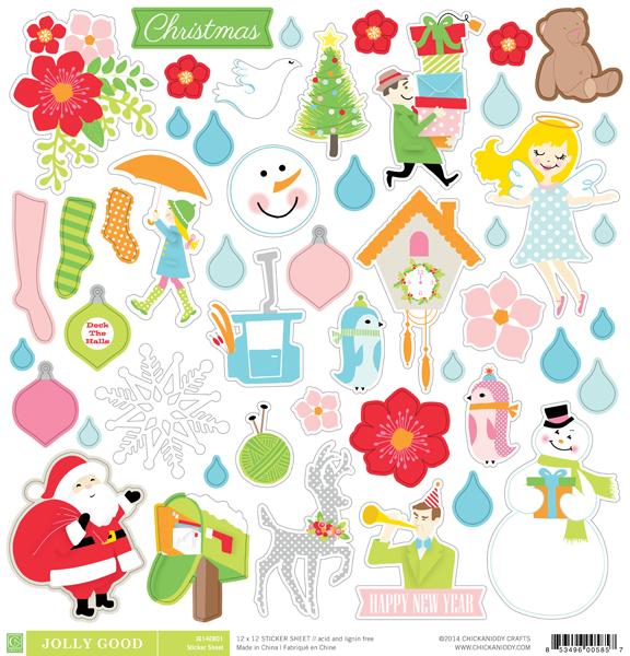 Jolly Good Illustration Stickers