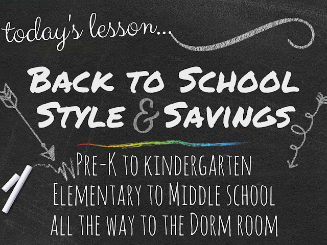 Back to School in Style with @Gordmans #backtoschool #fashion
