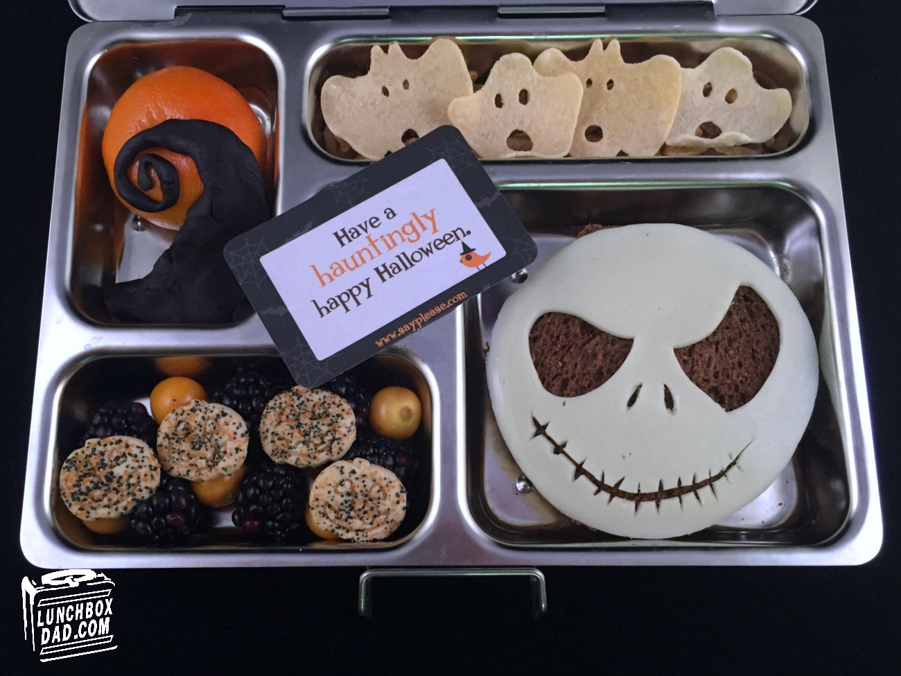 Lunchbox Dad: Learn to Make The Nightmare Before Christmas Lunch