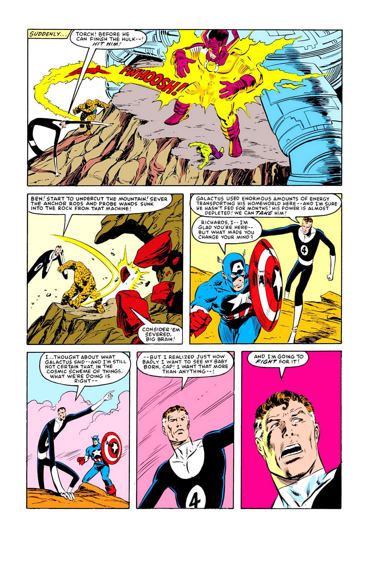 Captain America (1968) Issue #292j #217 - English 22