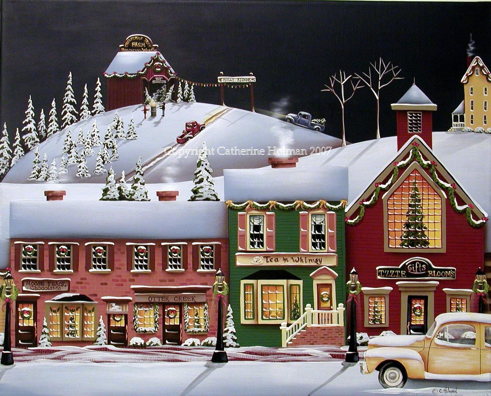 Catherine Holman Folk Art: A Folk Art Christmas