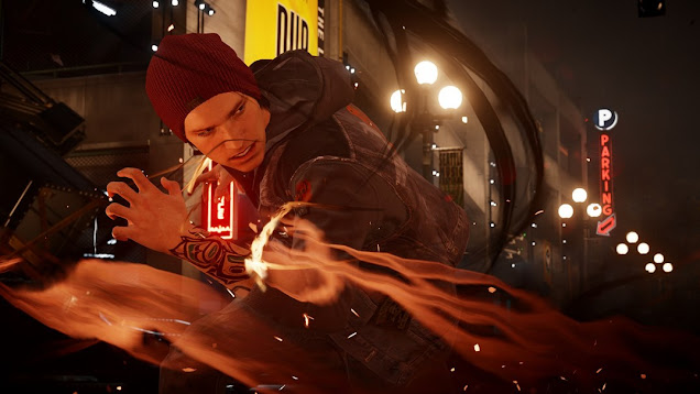 inFAMOUS 3 Release Date for PS4, PS3