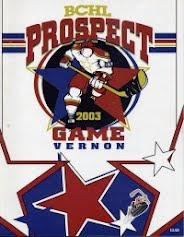 2003 (Vernon) BCHL Prospects Game Program