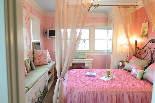 Goedkope Slaapkamer Pimpen : Small Teenage Girl Bedroom