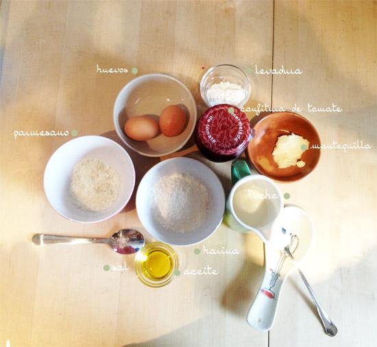 Receta magdalenas saladas