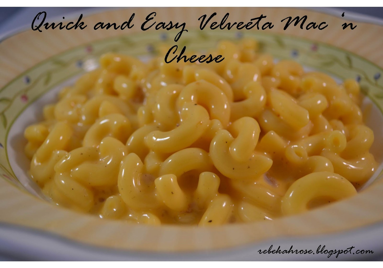 macaroni and cheese velveeta