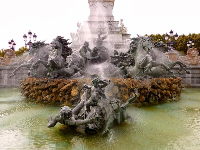 Detalle Monumento a los Girondinos de Burdeos